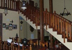 Recepción de la casa