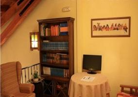 Espacio de biblioteca