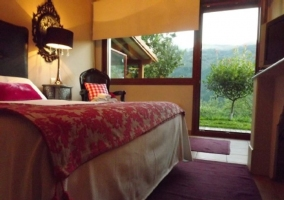 Dormitorio doble con salida al exterior