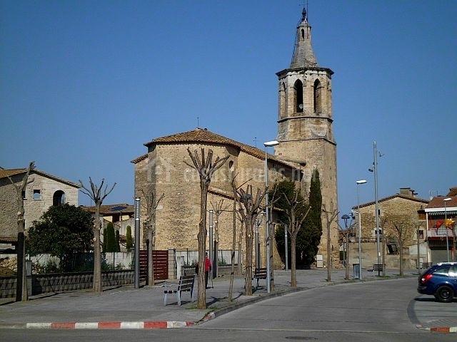 Iglesia parroquial de Cornellá del Terri