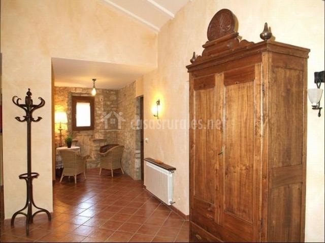 Sala de la casa rural catalana