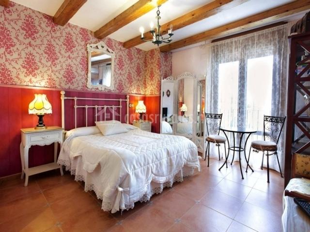 Dormitorio en rosa