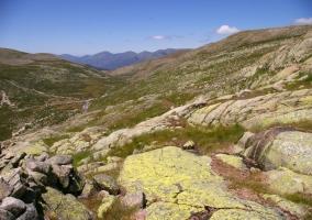 Valle glaciar de la Sierra en la Garganta de los Infiernos