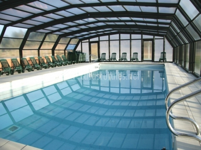 Vilar rural d arnes en arnes tarragona - Casa rural con piscina cubierta ...