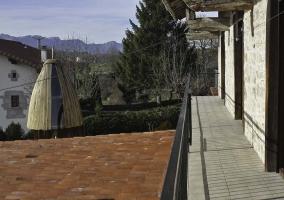 Balcón y vistas al entorno