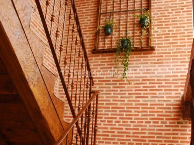 Los barreros en san cristobal de segovia segovia - Escaleras de ladrillo ...