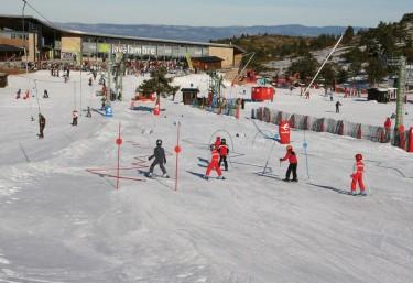 Ski slope? of Jalambre