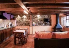 Cocina salón Cascayu