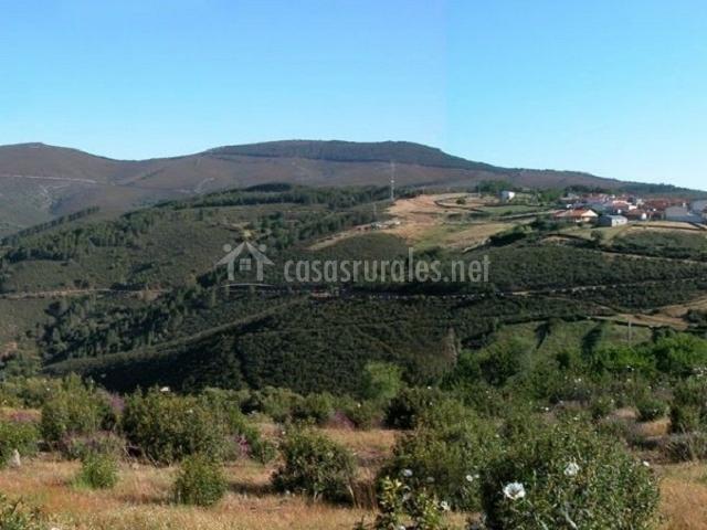 Casas rurales las cabachuelas i en san miguel de valero - Valero salamanca ...