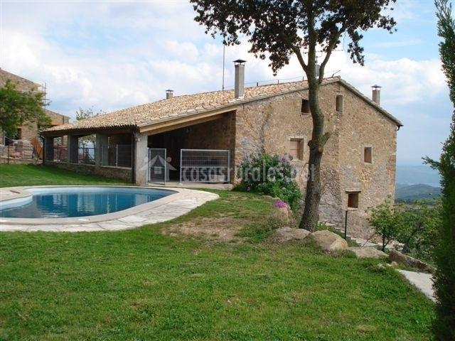 Casa baix dalt casas rurales en pallerols de rialb lleida - Casas rurales lleida piscina ...