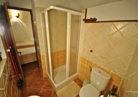 Cuarto de baño de apartamento Cuadra
