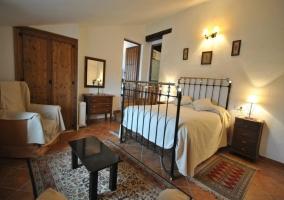 Dormitorio del apartamento Atroe