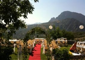 Exterior para bodas