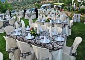 Jardines acondicionados para bodas