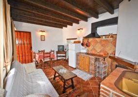 Salón cocina de El Pajar