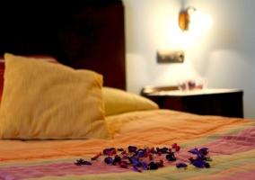Detalle del dormitorio