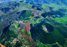 Zona volcánica de la Garrotxa