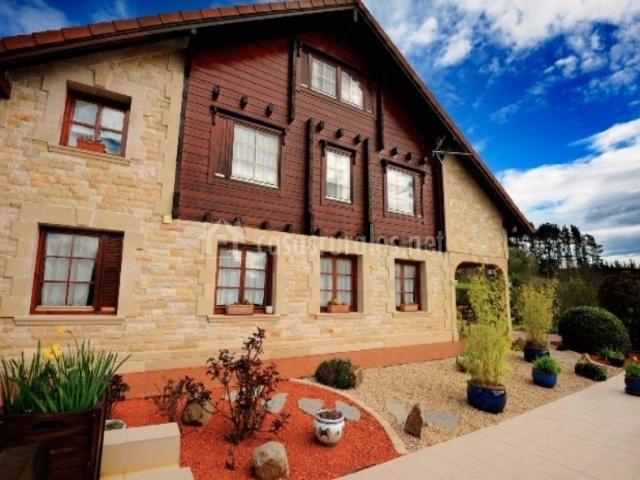 La casa de madera en arrieta vizcaya - La casa de madera valencia ...