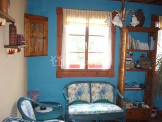 Sala de estar con libros