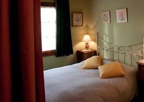 Dormitorio doble con baño