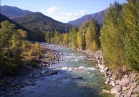Zonas naturales en el entorno con espacios verdes