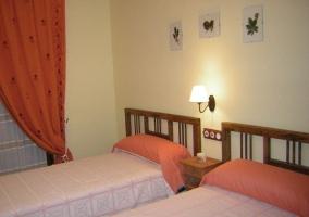 Dormitorio teja doble