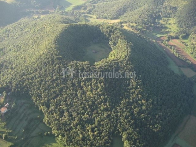 Zona volcánica de La Garrocha