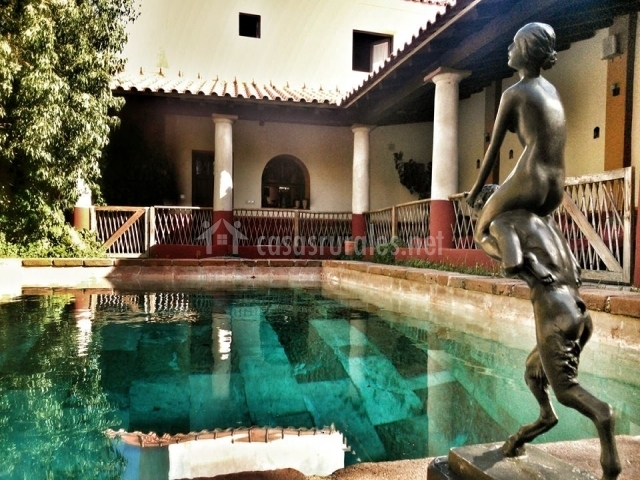 Termas aqua libera en aljucen badajoz for Hoteles en badajoz con piscina