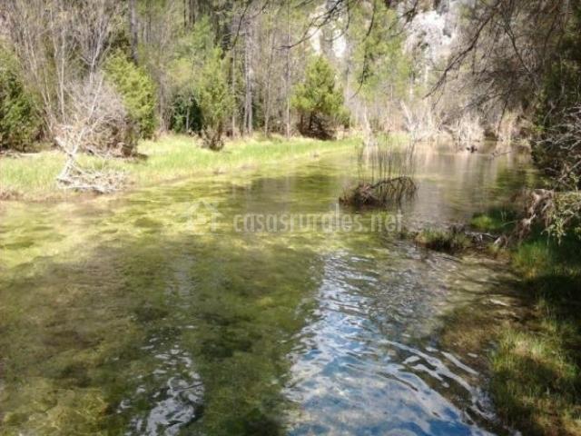 Zona de paso del rio Tejadillos