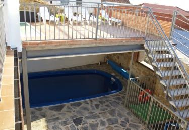 Casas rurales con piscina en jarilla for Casas rurales en badajoz con piscina