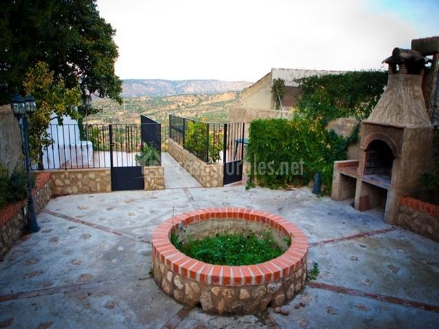 Casa jard n en letur albacete for Casa rural casa jardin