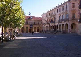 Plaza Mayor Soria