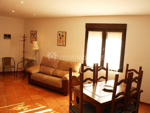 Sala De Estar Y Comedor ~ sala de estar y comedor de los apartamentos sala de