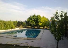 Otra perspectiva de la piscina