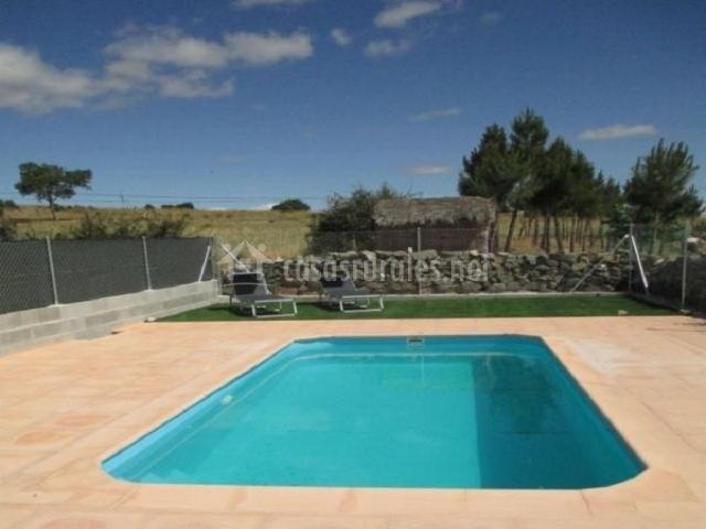 El mirador de la cuesta del encinar 1 en mediana de for Alojamiento con piscina