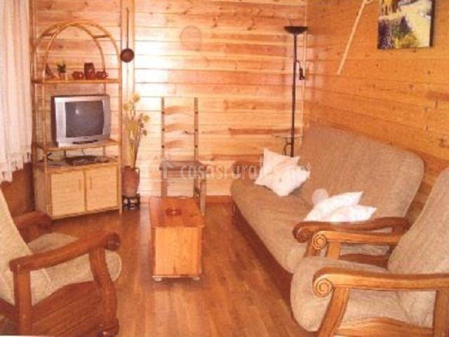 La casita de madera casa rural en sacramenia segovia - La casita de madera ...