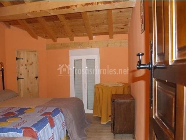 Dormitorio doble ampliable a triple