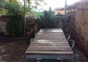 Vistas de la mesa del exterior