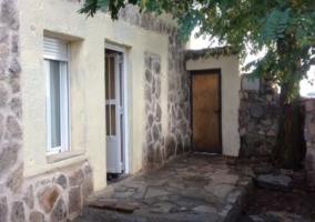 Vistas de la puerta de acceso