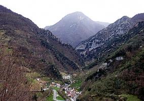 Vistas de la aldea de La Riera