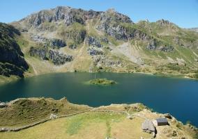 Lago del Valle en el Parque Natural de Somiedo