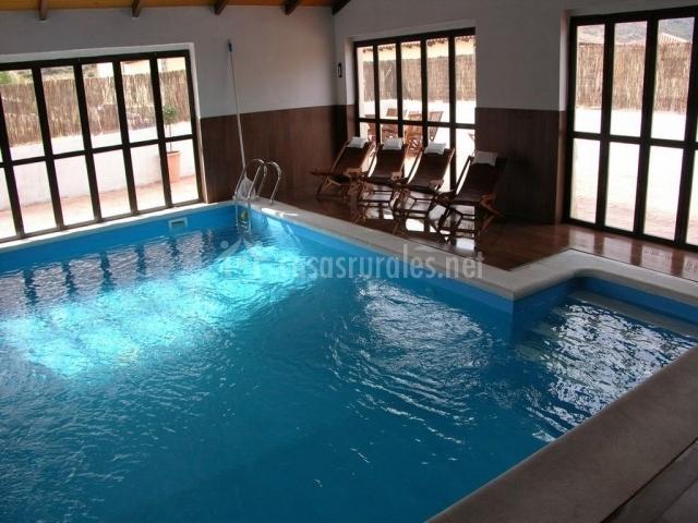 Casa rural la serijuelas en villanueva de avila vila - Casa rural asturias piscina climatizada ...