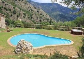 Desde la piscina podéis presenciar unas vistas maravillosas
