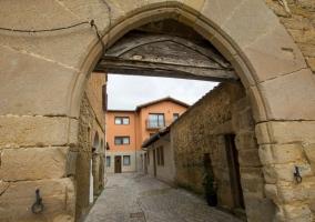 Portón de la vivienda