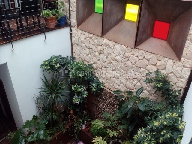 Fuente patio interior