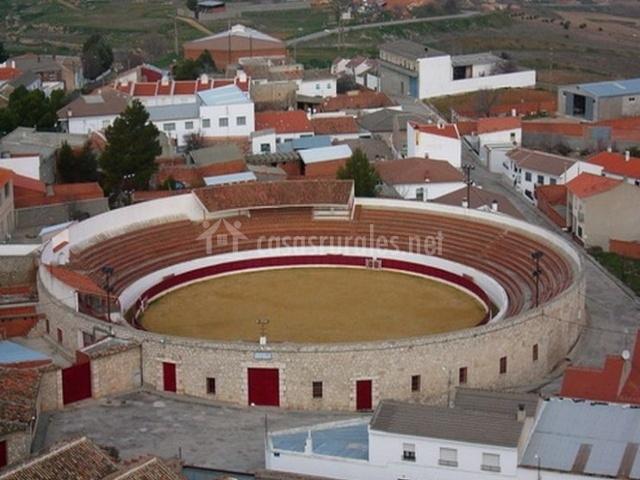 Zona de la plaza de toros en el centro