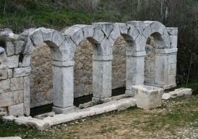 Zona de ruinas del castillo