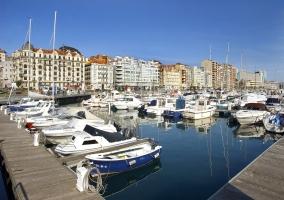 Puerto en Santander