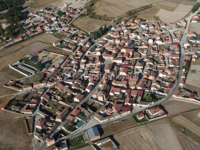 Zona del casco urbano vista desde el aire