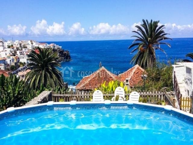 Alenes del mar en las aguas tenerife for Casa rural con piscina en tenerife
